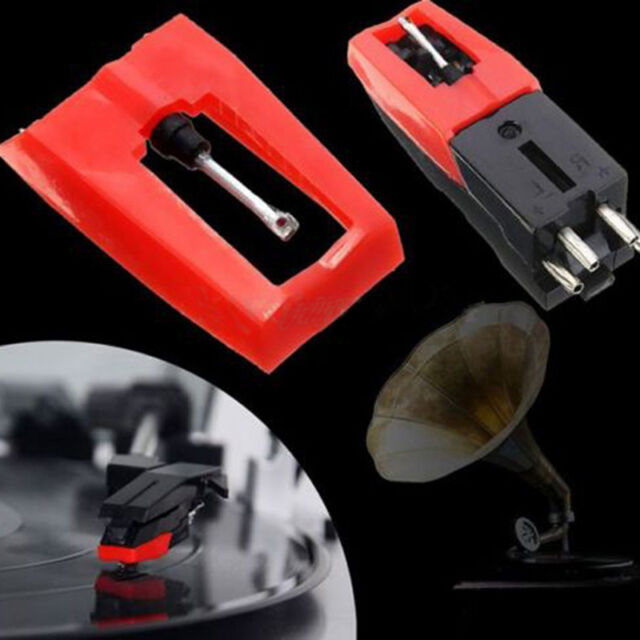 Turntable Phono Ceramic Cartridge with Stylus Needle for LP Record Player HP