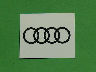 "Audi ""tattoo"" Temporäres Tattoo 4,4 X 1,6 Cm Neu"