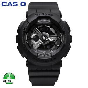 Hot-Sale-Original-Casio-Baby-G-BA110-Black-Pink-Wrist-Watch-Women-Sport-Watches