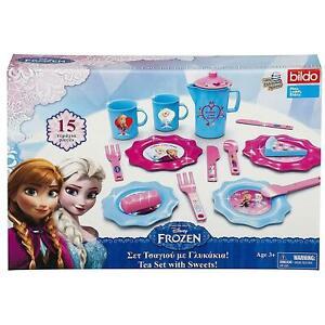 Disney-Frozen-Elsa-y-Anna-para-ninos-pequenos-15-piezas-Juego-de-Te-Oficial-De-Regalo-De-Navidad