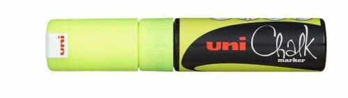 8.0 mm PWE-8K Uni Chalk Marker broad tip DIFFERENT COLOURS to choose from