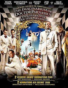 NEW BLU-RAY// THE IMAGINARIUM OF DOCTOR PARNASSUS // HEATH ...
