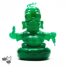 "The Simpsons Jade Homer Buddha 3"" Figure Kidrobot x IamRetro Exclusive Release"