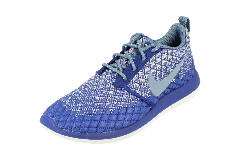 Nike di donne roshe due flyknit 365 correndo i formatori 861706 scarpe scarpa 400