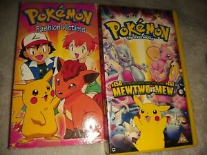 Vintage-retro-Pokemon-Fashion-Victims-and-pokemon-the-first-movie-Vhs-tape