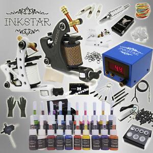Complete Tattoo Kit Professional Inkstar 2 Machine Journeyman Set