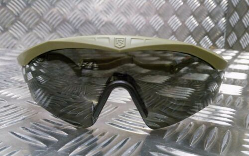 Genuine British Army Issue Revision Sawfly Ballistic Protective Glasses TAN