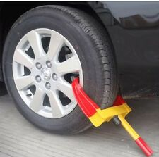WHEEL CLAMP LOCK FOR CARS TRAILER CARAVAN SECURITY ANTI THEFT LOCKING HEAVY DUTY