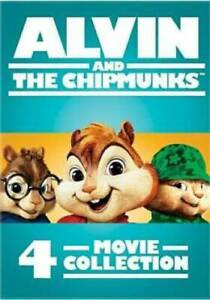 Alvin-and-the-Chipmunks-4-Movie-Collection-DVD-2017-4-Disc-Set-Brand-New