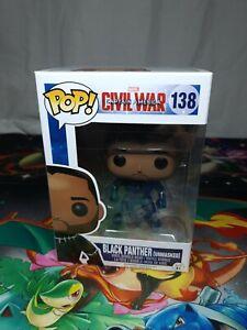 Marvel-Captain-America-CW-Black-Panther-138-Pop-Vinyl-Bobble-Head-Figure-Funko