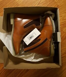 c42ce23aafe NEW Horze 37 Havanna Jodhpurs Brown Tan Leather Uppers Ankle Boots ...