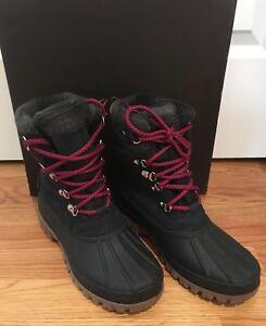 c8aea49c210 Details about NWT J Crew Perfect Winter Arctic Tall Boot Navy Nubuck size  10 #H1891 Retail