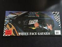 1984-1988 Toyota Pickup/4runner Cluster White Face Glow Through Gauges Kit
