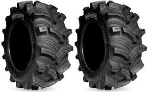Pair-2-Kenda-Executioner-25x10-12-ATV-Tire-Set-25x10x12-K538-25-10-12