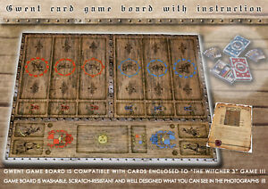 CLEARANCE-SALE-GWENT-card-game-suplement-collector-039-s-game-board-The-Witcher