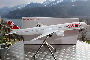 SWISS-B-777-300ER-1-200-Corporate-Modell-fuer-Swiss-LIMOX