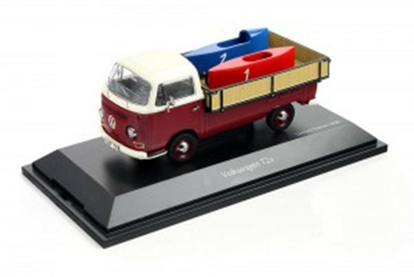 Schuco 450333800  VW T2a mit Seifenkisten   1 43    | Elegante Form