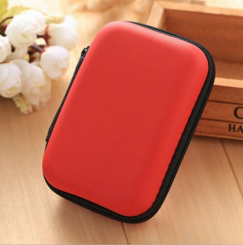 Case Storage Bag Pouch Box for SD TF Card Earphones Headphones Headset Portable