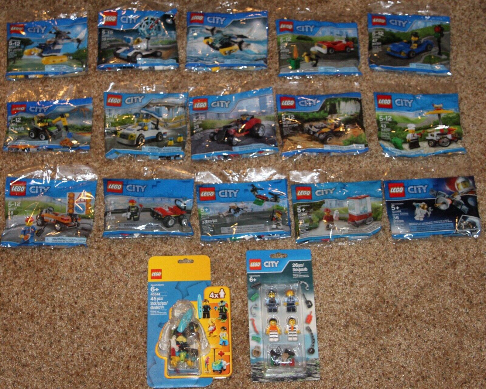 17 LEGO CITY Polysac Lot 853570  4034 4  prix équitables