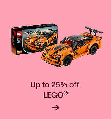 Up to 25% off  LEGO