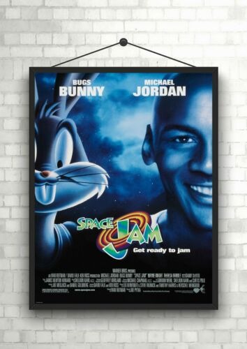 Space Jam Classic Large Movie Poster Print Maxi A1 A2 A3 A4