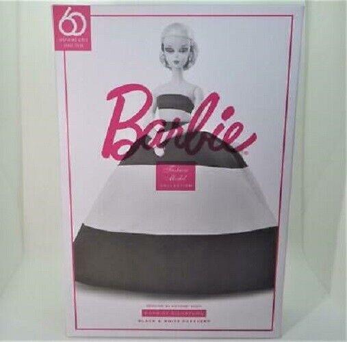 Black & White Forever Silkstone Barbie Doll    60th Anniversary FXF25 NRFB Mint