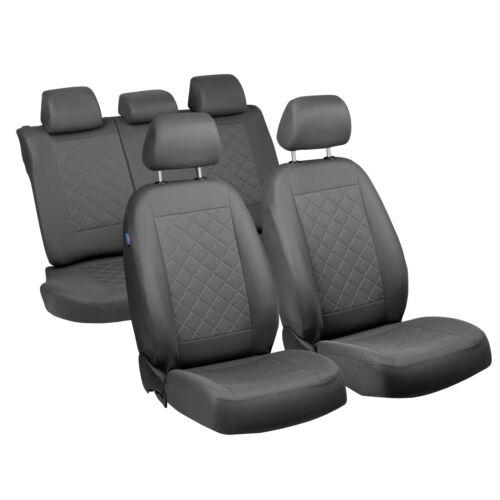 Graue Sitzbezüge für KIA CARENS Autositzbezug Komplett