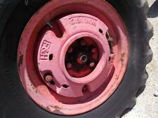 Allis Chalmers Wc Ac Tractor Famph Rear Wheel Weights Weight