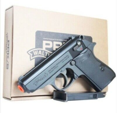 ACRO WALTER PPK/S METAL SLIDE Airsoft Pistol Hand Toy BB ...