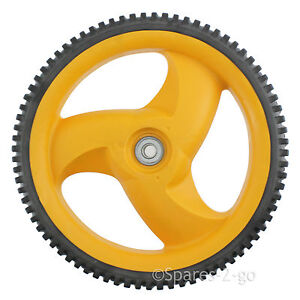 Spares2go Rear Wheel and Tyre Compatible with Husqvarna Lawnmower