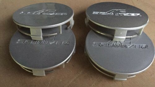 4 AC Schnitzer Wheel Center Caps Genuine Type II And III Size 75MM Part #79089