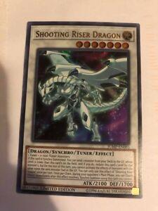 M//NM Ultra Rare Shooting Riser Dragon JUMP-EN085