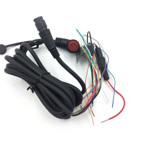 19 pin /& 6 pin Original Garmin 010-11482-01 Power//Data//Sonar Cable