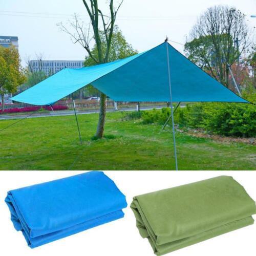 Waterproof Camping Tents Tarp Awning Shade Sun Rain Shelter Mat Canopy  Out
