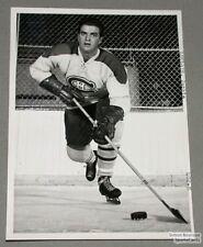 Original Mid-50's Jackie Leclair Mtl Canadiens Photo
