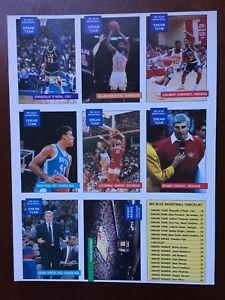 1990-91-Shaquille-O-Neal-Rookie-HOF-1st-Card-LSU-Big-Blue-Basketball-RC-card-Set
