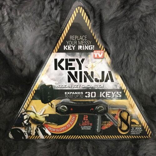 Ninja Key Chain 3 in 1 Smart Messy Keys Holder EDC Bottle Opener LED Light Tools