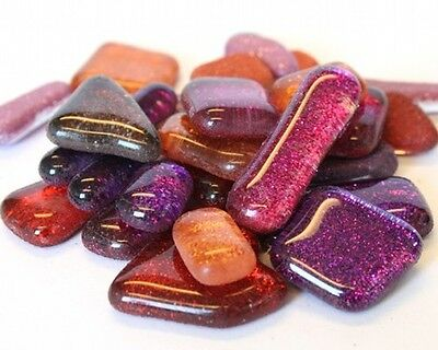 Glass Mosaic Glitter Tiles 1x1cm *3 PACKS* Variety of Colours To Choose/PP Inc