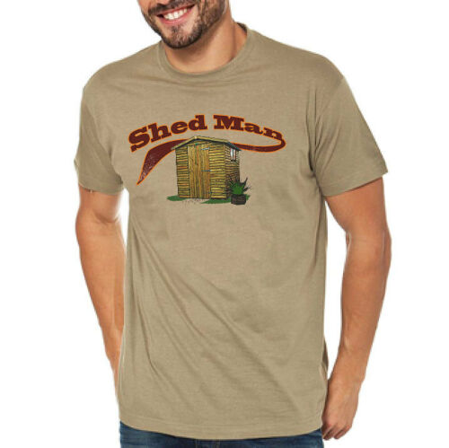 /'Shed Man/' Father Husband Partner who loves his shed Fun T-Shirt Ideal Gift