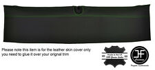 GREEN STITCH HALO ROOF TRIM GENUINE LEATHER COVER FITS CORVETTE C6 COUPE 05-13