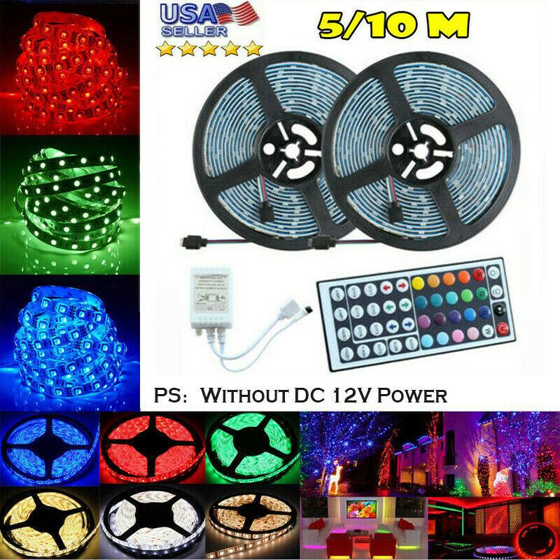 10M 32FT 3528 Waterproof SMD RGB 600LEDs LED Light Strip 44K