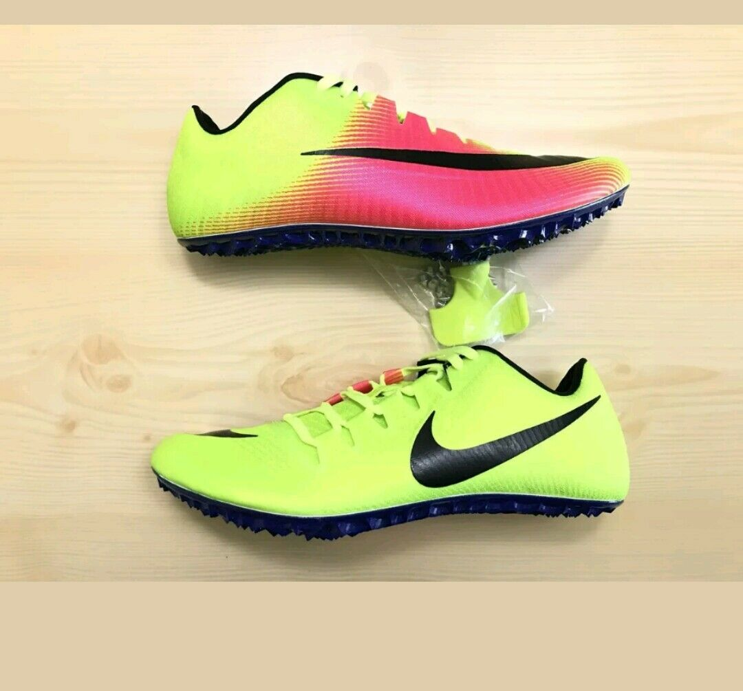 Nike Mens Zoom JA FLY 3 OC Rio Track & Field Spikes Volt 882032-999 Size 12