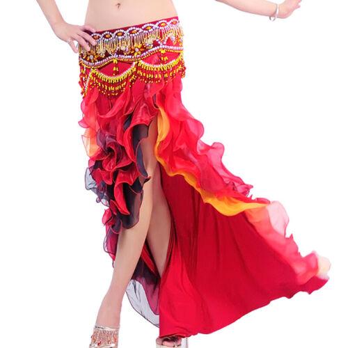 C232 Bauchtanz Kostüm Rock mit Volant Fashing Belly Dance