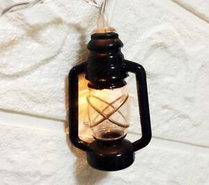 Light Up Led Lantern Antique Paraffin Oil Lamp Style Uk Seller Next Day Dispatch Ebay