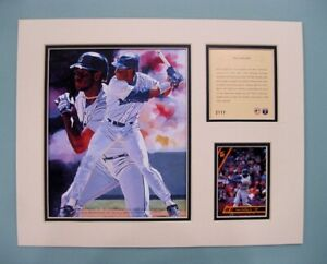 Seattle Mariners Ken Griffey Jr 1994 Baseball 11x14 MATTED Kelly Russell Print