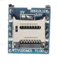 WTV020M01 V1.00 MP3 U-disk Audio Player SD Card Voice Module for Arduino CHIP28A