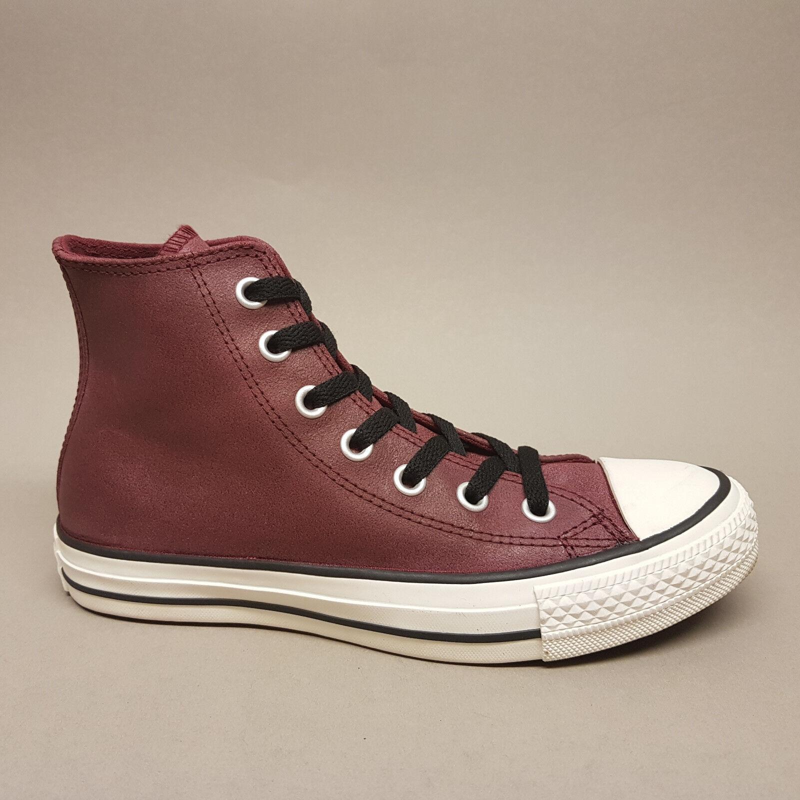 Converse All Star Chuck Hi Oxheart Leather 144762C Turnschuhe Leder rot Gr. 37