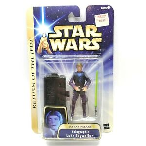 Hasbro-Star-Wars-Return-Of-The-Jedi-Jabba-039-s-Palace-Holographic-Luke-Skywalker