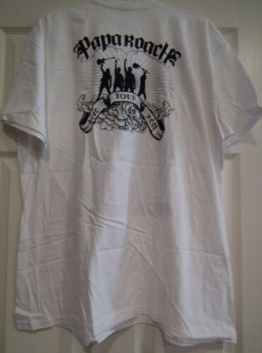 New PAPA ROACH 2010 2011 Concert Tour T-shirt Dia De Los Muertos 2XL XXL 2X