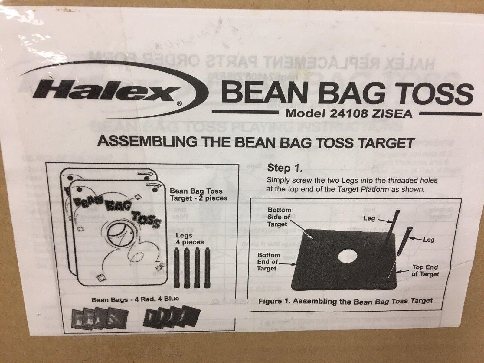 Halex Bean Bag Toss Game w  Carry Bag Model 24108 ZISEA Brand new please read